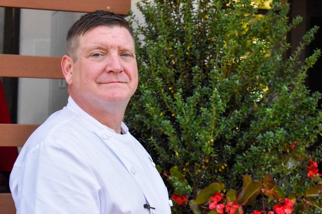 Executive Chef Heath outside Fork Lore
